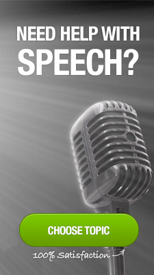 We also provide help in speech writing